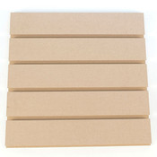 """Slatwall 8' x 4' vertical 3""""OC grooved for inserts - paint grade"""