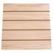 """Slatwall 4' x 8' 3""""OC - red oak veneer"""