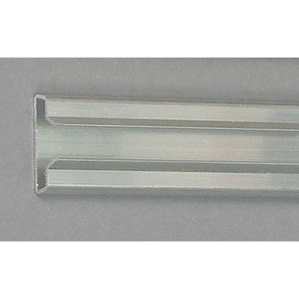 """Aluminum slatwall insert 48"""" long"""