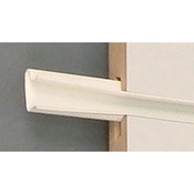 "Color snap slatwall insert 96"" long 16 inserts/set-White"