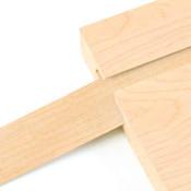 Vinyl Slatwall Insert - Maple