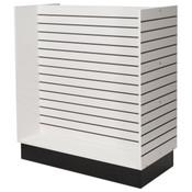 "Slatwall H-unit 48""x24""x54"" high - white"