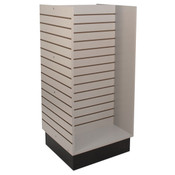 "Slatwall H-unit 24""x24""x54"" high - gray"