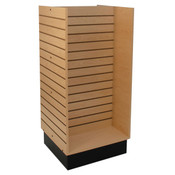 "Slatwall H-unit 24""x24""x54"" high - maple"