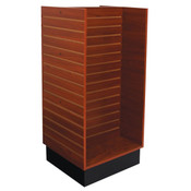 "Slatwall H-unit 24""x24""x54"" high - cherry"