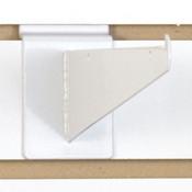 """Slatwall 8"""" shelf bracket-white"""