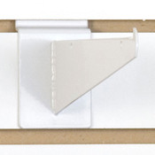 "Slatwall 8"" shelf bracket-white"
