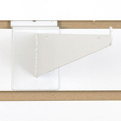 "Slatwall 12"" shelf bracket-white"