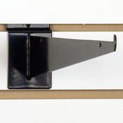 "Slatwall 14"" shelf bracket-black"