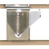 "Slatwall 6"" shelf bracket-chrome"