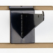 "Slatwall 6"" shelf bracket-black"