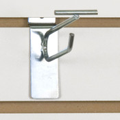 "Slatwall scanner hook 4""-zinc finish"