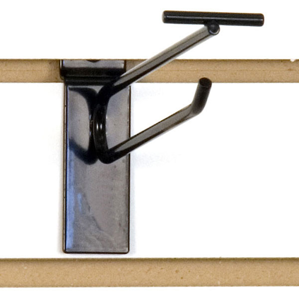 "Slatwall scanner hook 6""-black finish"