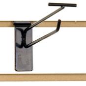 "Slatwall scanner hook 8""-black finish"