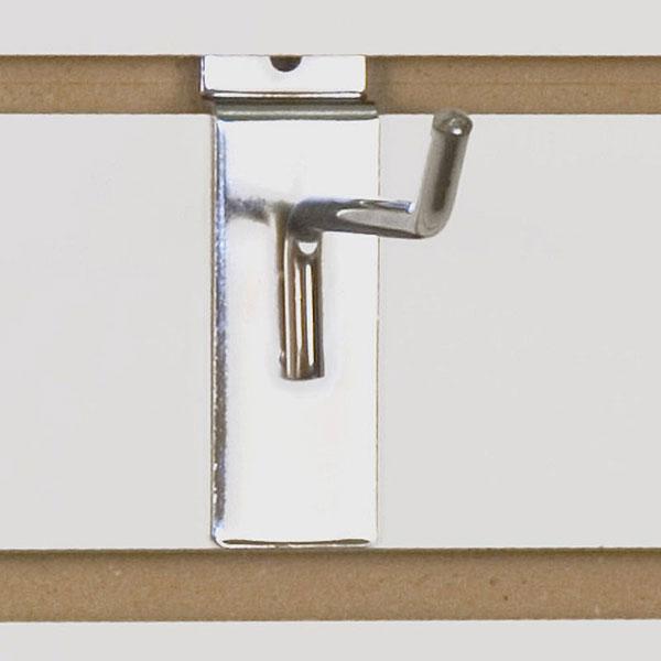 1 Chrome Slat Wall Hooks