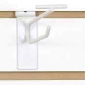 """Slatwall scanner hook 4""""-white"""