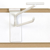 "Slatwall scanner hook 6""-white"