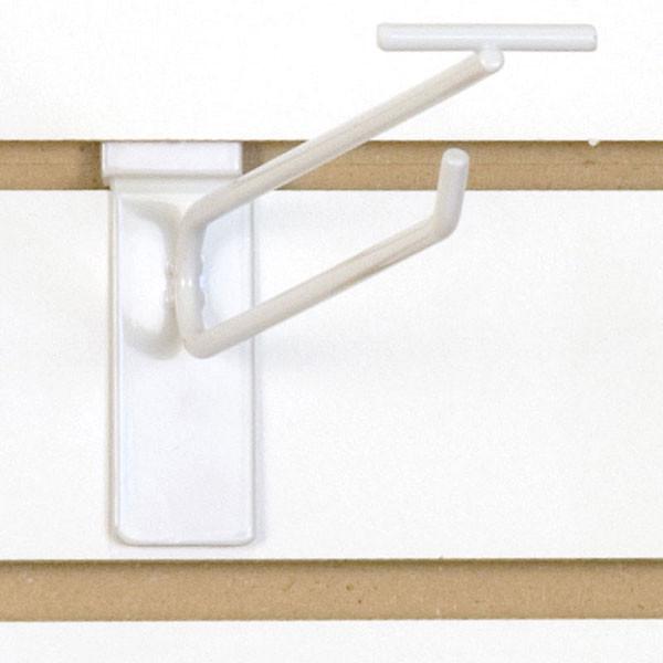 """Slatwall scanner hook 8""""-white"""