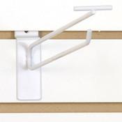 """Slatwall scanner hook 10""""-white"""