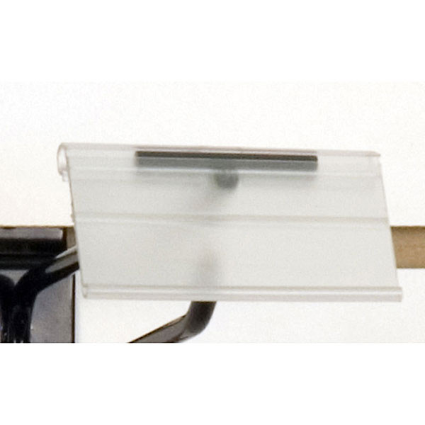 "Scan hook label holder-1-1/4""h x 2-1/2""w"