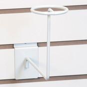 Slatwall millinery rack - white