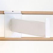 """Slatwall faceout 12"""" rectangular tube - white"""