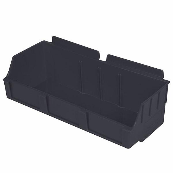 "Storbox wide-4.65""d x 11.42""w x 3.35""h-black"