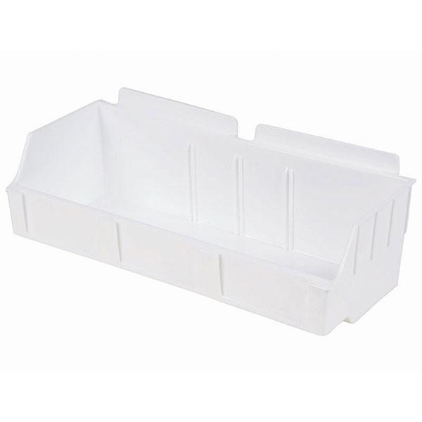 "Storbox wide-4.65""d x 11.42""w x 3.35""h-white"