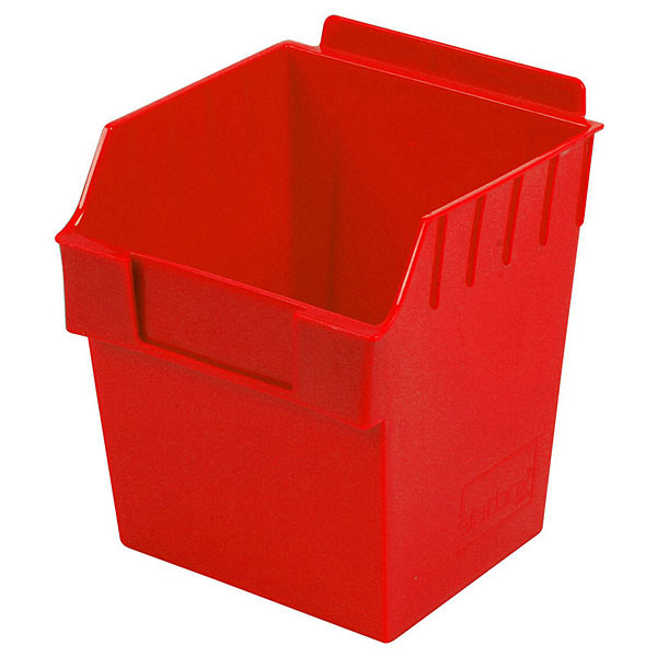 "Storbox cube-5.90""d x 5.90""w x 7.0""h -red"