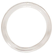 Clear Scarf Ring - Clear