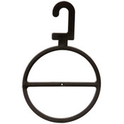 Scarf Ring Hanging - Black