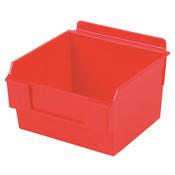 "Shelfbox 100-5.70""d x 5.51""w x 3.74""h red"
