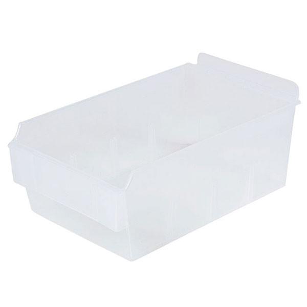 "Shelfbox 200-9.25""d x 5.51""w x 3.74""h clear"
