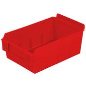 "Shelfbox 200-9.25""d x 5.51""w x 3.74""h red"