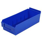 "Shelfbox 300-13.18""d x 5.51""w x 3.74""h blue"
