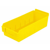 "Shelfbox 300-13.18""d x 5.51""w x 3.74""h yellow"