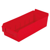 "Shelfbox 300-13.18""d x 5.51""w x 3.74""h red"