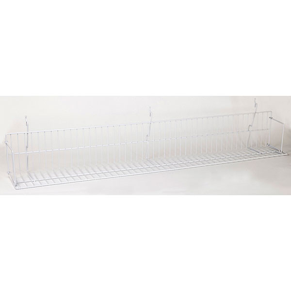 "Video shelf 46""w Universal fit - white"