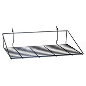 "Double shirt shelf 23-1/2""w x 14""d Universal fit - black"