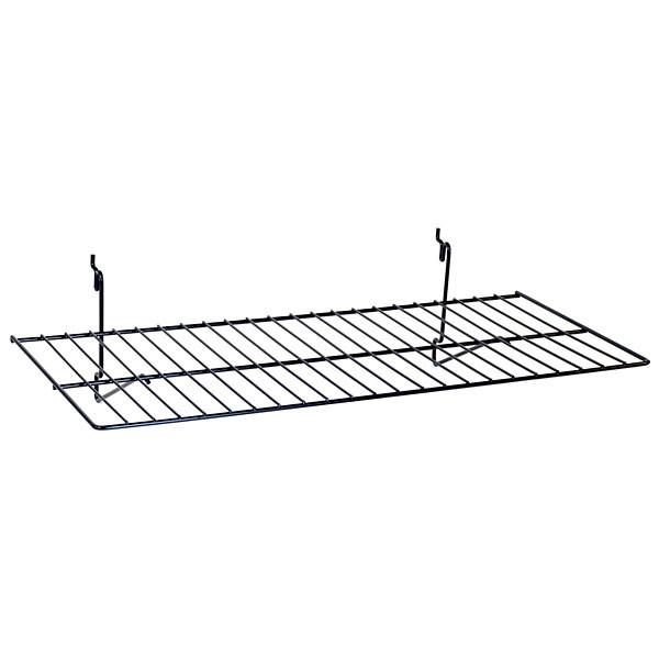 """Flat shelf 23-1/2""""w x 12""""d Universal fit - black"""