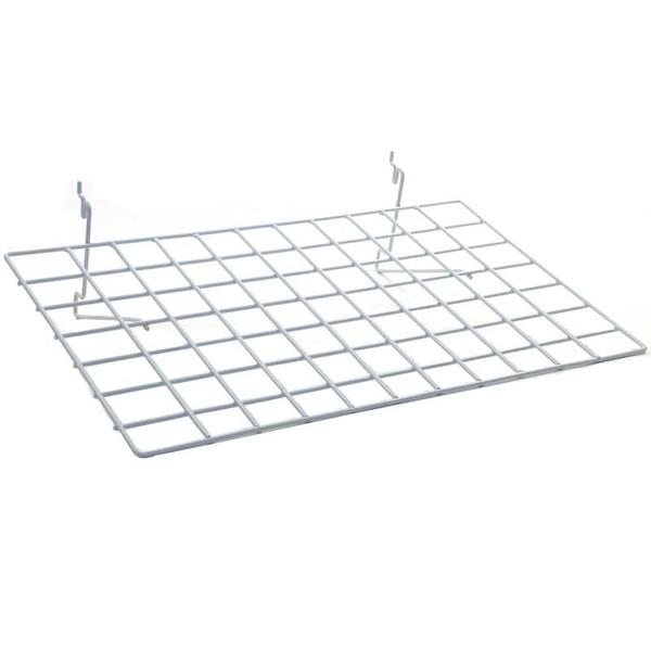 "Flat shelf 23-1/2""w x 14""d Universal fit - white"