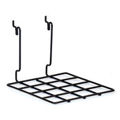 "Flat shelf 8""w x 8""d Universal fit - black"