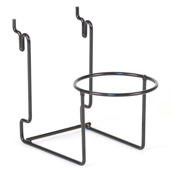 "Hat holder - 4"" ring Universal fit - black"