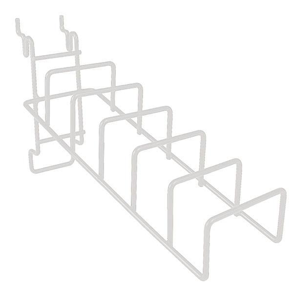 Universal Wire Cane Rack - White