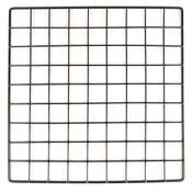 """Mini grid 14"""" x 14"""" - black"""