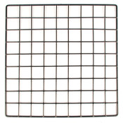 "Mini grid 14"" x 14"" - black"