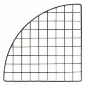 "Mini grid corner 14"" - black"