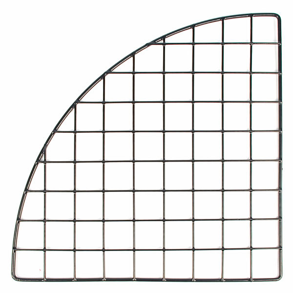 "Mini grid corner 14"" - black"