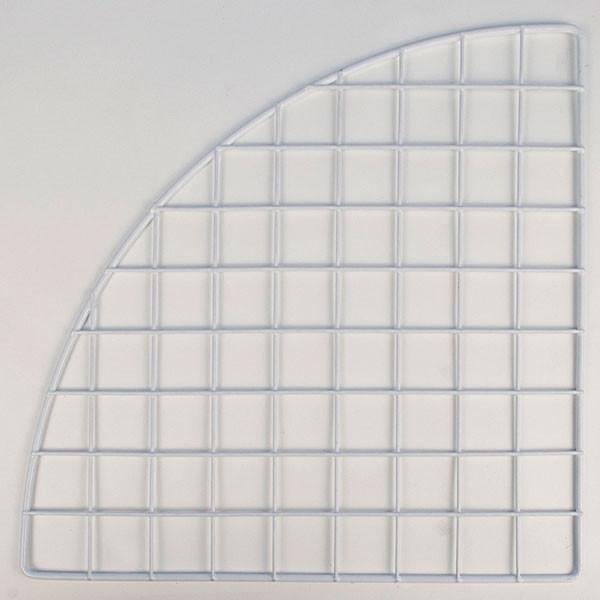 """Mini grid corner 14"""" - white"""