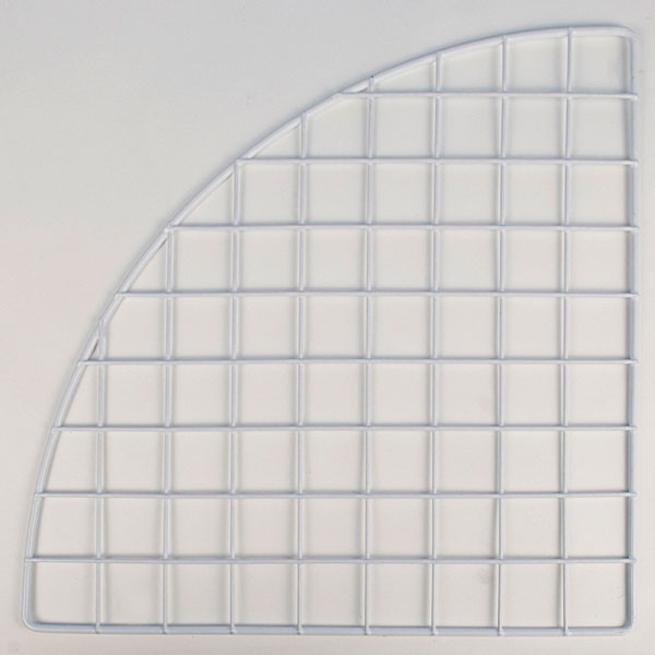 "Mini grid corner 14"" - white"